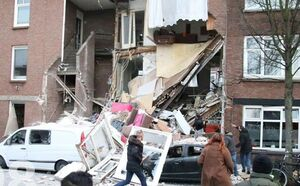 انفجار بزرگ در لاهه هلند