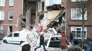 عکس/ انفجار بزرگ در هلند