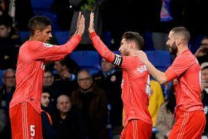 پیروزی رئال مادرید در شب دبل بنزما
