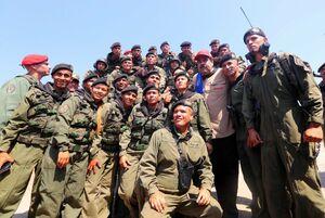 فیلم/ بازدید مادورو از چند پادگان نظامی ونزوئلا
