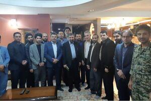 دیدار محسن رضایی با فرزندان فرماندهان شهید خوزستان +عکس