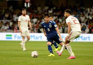 تساوی ایران و ژاپن در نیمه اول