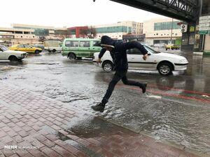 فیلم/ بارش شدید باران در قشم
