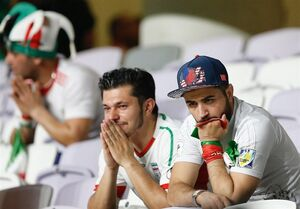 عکس/ شب تلخ فوتبال ایران