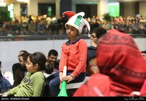عکس/ تماشای دیدار فوتبال ایران و ژاپن