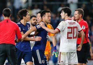 عکس/ درگیری فیزیکی آزمون با بازیکن ژاپنی