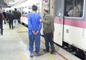 سرقت از مسافران قطار با مواد بیهوشکننده +عکس