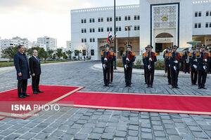 عکس/ استقبال رسمی از جهانگیری در دمشق