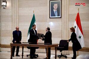 امضای 11 تفاهمنامه همکاری بین سوریه و ایران