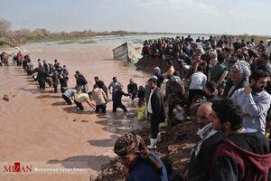 عکس/ سیلاب در مناطق روستایی خوزستان