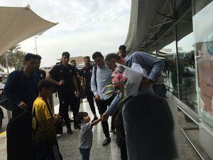 عکس/ خداحافظی کودک ایرانی با کیروش