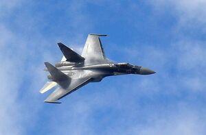 فیلم/ رهگیری هواپیمای جاسوسی آمریکا توسط جنگنده روس