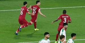حرکت زشت اماراتیها پس از گل سوم قطر!