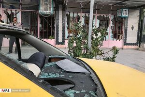 تصاویر جدید از انفجارهای صوتی زاهدان