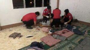 عکس/ حمله مرگبار به مسجدی در فیلیپین