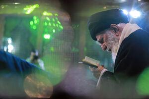 فیلم/ لحظات دیدهنشده ازحضور امروز رهبرانقلاب در حرم امام (ره)