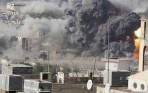 ائتلاف سعودی بمباران غرب یمن را از سر گرفت