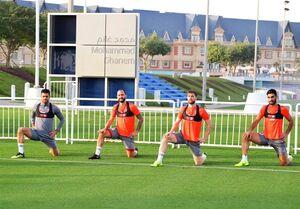 نخستین تمرین مرتضی پورعلیگنجی با تیم العربی قطر + عکس