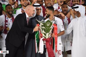عکس/ چالش 10 سالگی فقط تیم ملی قطر