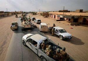 حملات توپخانهای حشد شعبی به مواضع داعش در سوریه
