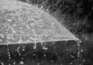 مقایسه بارشها در پاییز و زمستان +جدول
