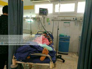 اولین تصویر یکی از مصدومین حادثه تروریستی نیکشهر