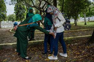 عکس/ گشت ارشاد در اندونزی