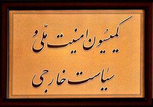 جلسه کمیسیون امنیت ملی برای بررسی طرح حمایت از سپاه