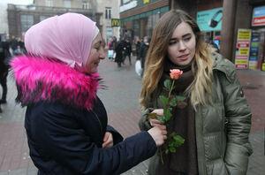 روز جهانی حجاب در اوکراین