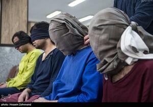 300 سرقت مسلحانه در پرونده مردان خشن +عکس