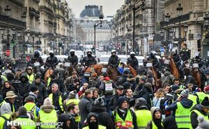آماده باش ۸۰ هزار نیروی امنیتی در فرانسه