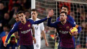 فیلم/ خلاصه دیدار بارسلونا 2-2 والنسیا