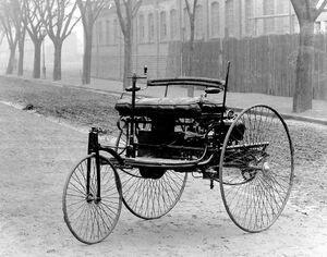 "عکس/ اولین ماشینی که ""بنز"" ساخت"