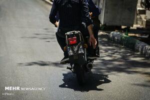 مرگ دلخراش موتورسوار در خیابان جمهوری +عکس