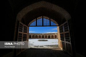 عکس/ کاروانسرایی زیبا در همدان