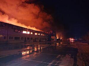 آتش سوزی در بزرگترین کارخانه تولید ادویه