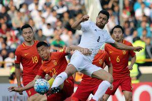 تیم ملی چین در مسیر تعریفشده قطر