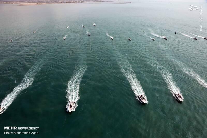 قایقهای تندرو سپاه پاسداران