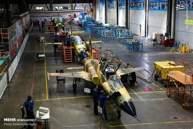 خط تولید جنگنده کوثر