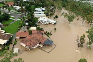 تصاویر جدید از خسارت سیل در استرالیا