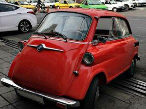 عکس/ کوچکترین خودروی ایران,