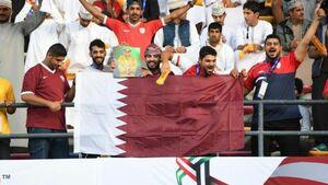 بازداشت یک اماراتی برای حمایت از تیم ملی فوتبال قطر!