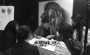پلمپ کلاس نقاشی هنجارشکن