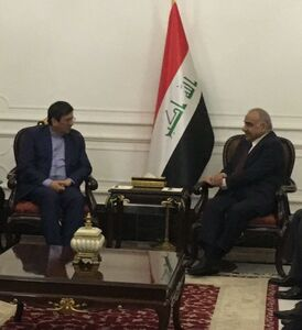 دیدار رئیس بانک مرکزی با نخست وزیر عراق