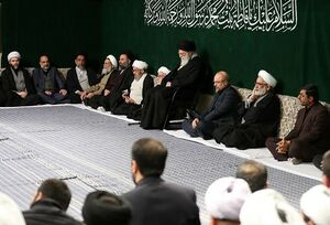 دومین شب عزاداری شهادت حضرت زهرا(س) در بیت رهبری برگزار شد