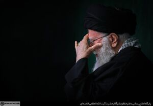 عکس/ دومین شب عزاداری فاطمیه در بیت رهبری