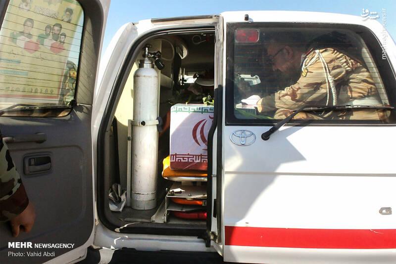 استقبال از پیکر دو شهید دفاع مقدس در تبریز