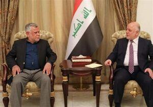 رایزنی العبادی و العامری درباره تکمیل کابینه عراق