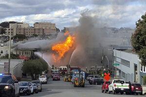 فیلم/ انفجار خط لوله گاز در آمریکا