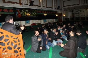 سوگواری ایام شهادت حضرت فاطمه زهرا(س) در مرکز اسلامی انگلیس